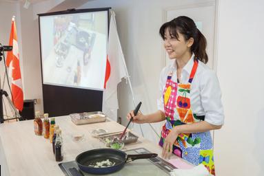 カナダ産メープル製品を使った製パン技術講習会
