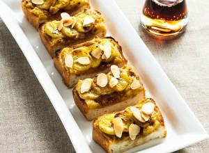 メープル バナナ シナモントースト