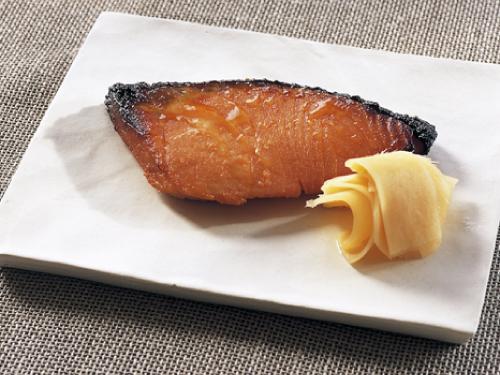 魚のメープル味噌漬け