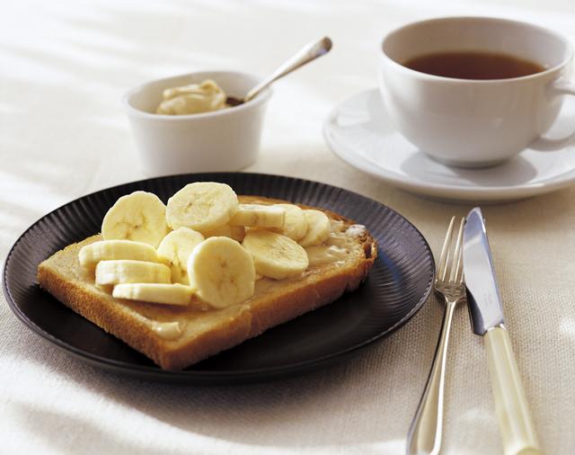 バナナ&メープルトースト