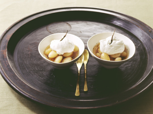 白花豆のバニラシロップ漬け