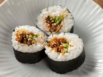メープルあさり寿司