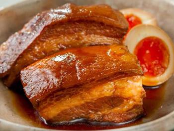 東坡肉(トンポウロウ)とメープル煮玉子