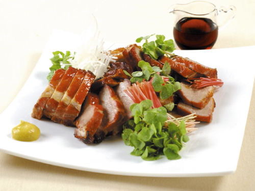 メープル風味の焼き豚