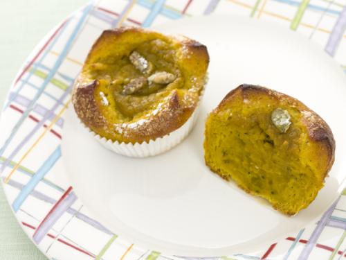 かぼちゃのメープルクリームパン