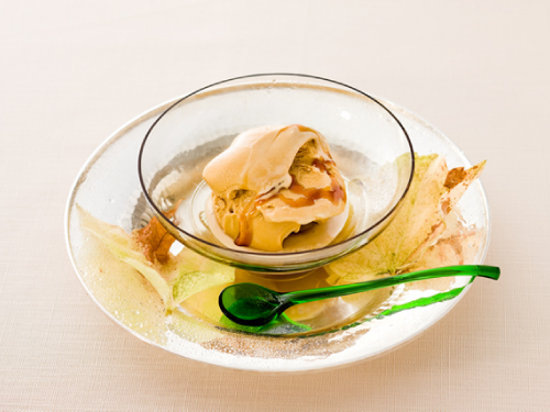 メープルガストリックアイスクリーム