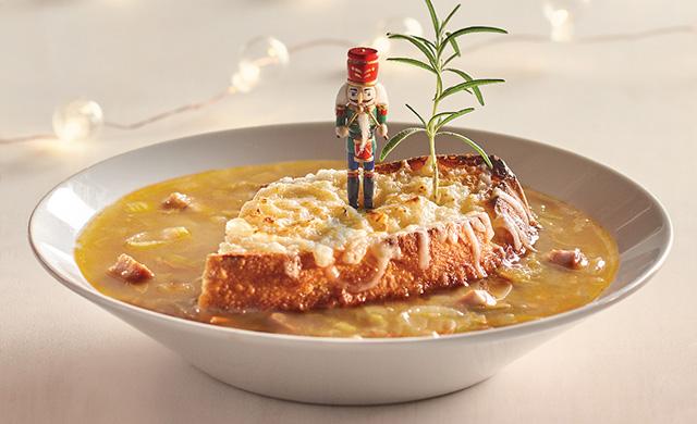 カムラスカ風メープル・オニオンスープ
