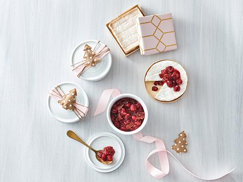 甘く風味豊かなメープルのクランベリー&ベーコンジャム